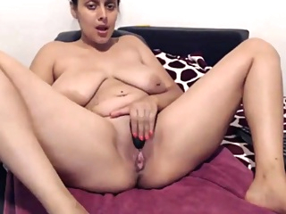 Busty South Asian Babe amateur indian straight